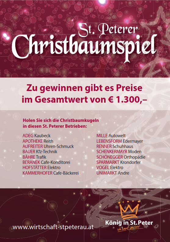 Christbaumspiel_Plakat